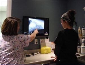 R-X numérique en salle examen 22